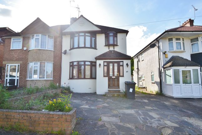 Thumbnail Semi-detached house to rent in Wroxham Gardens, Potters Bar