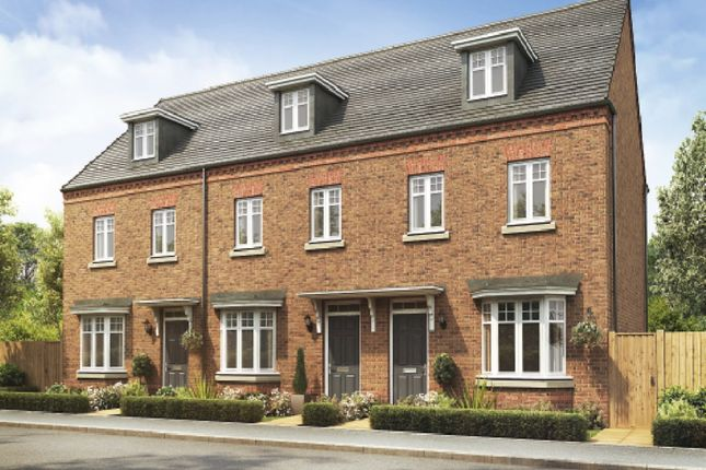 Thumbnail End terrace house for sale in Stonnyland Drive, Lichfield