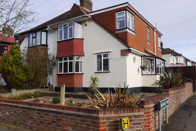Thumbnail Semi-detached house for sale in Bolderwood Way, West Wickham