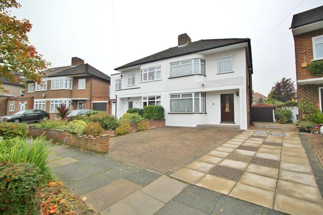Thumbnail Semi-detached house for sale in Peartree Road, Enfield