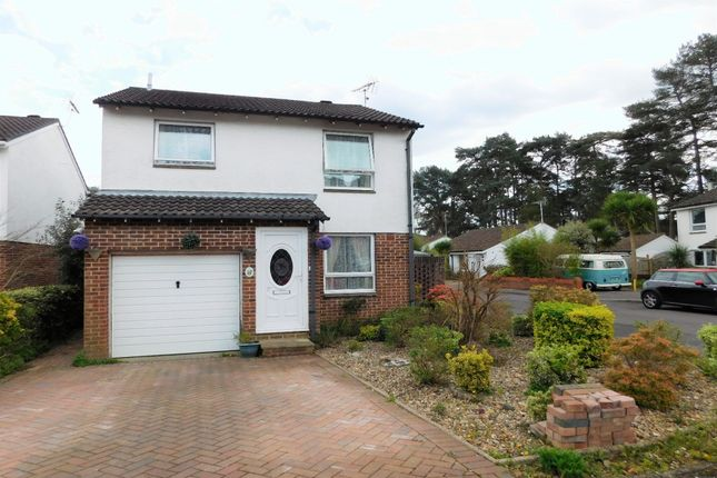 Thumbnail Detached house for sale in Nightjar Close, Creekmoor, Poole