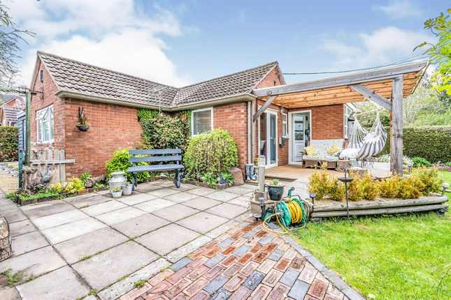 3 bed semi-detached bungalow for sale in Uplands, Fromes Hill, Ledbury HR8