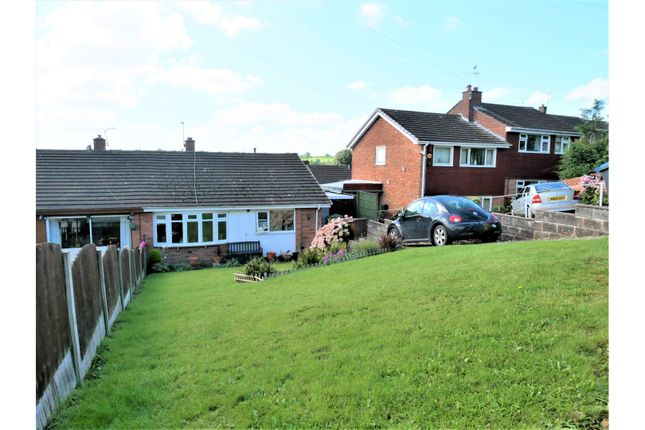 Thumbnail Semi-detached bungalow for sale in Ashleigh Road, Tean, Stoke-On-Trent