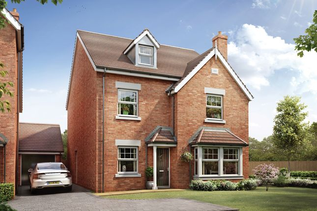 Thumbnail Detached house for sale in Cherry Orchard, Lichfield