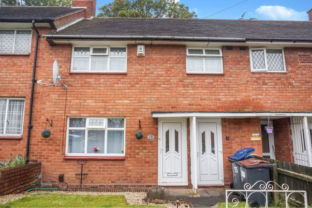 Thumbnail Terraced house for sale in Beech Dene Grove, Erdington, Birmingham