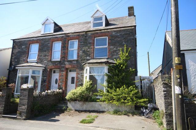 Thumbnail Semi-detached house for sale in High Street, Delabole