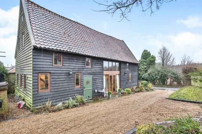 Thumbnail Barn conversion for sale in Hapton, Norwich, Norfolk