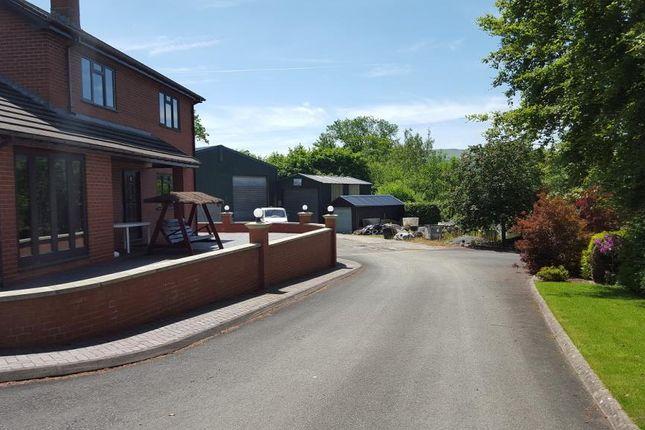 Thumbnail Detached house for sale in Llanfaredd, Builth Wells, Powys