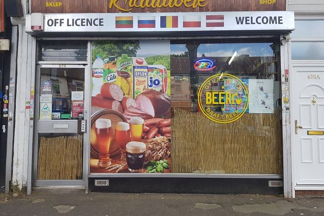 Thumbnail Retail premises for sale in 678 Romford Road, Manor Park