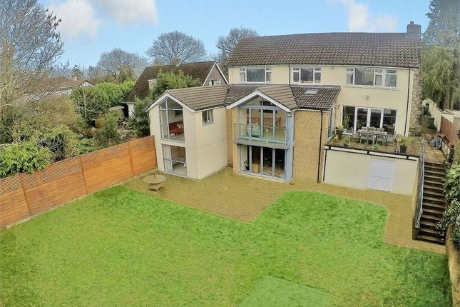 Thumbnail Detached house for sale in Hollybush Road, Cyncoed, Cardiff