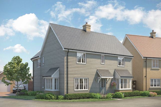 Thumbnail Detached house for sale in The Chelmer At Beaulieu, Regiment Gate Off Regiment Way, Chelmsford, Essex