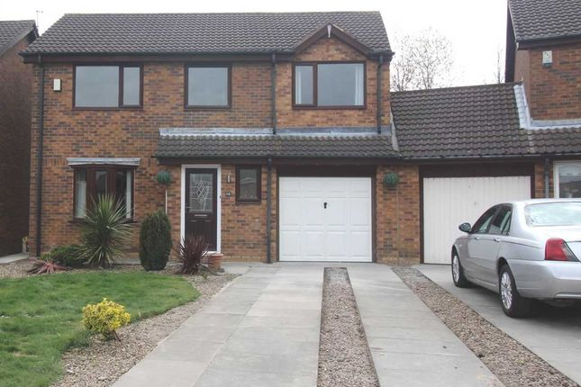 Thumbnail Detached house for sale in Ingham Grove, Northburn Glade, Cramlington