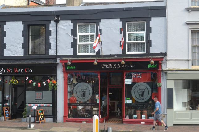 Thumbnail Pub/bar for sale in 46 High Street, Ventnor