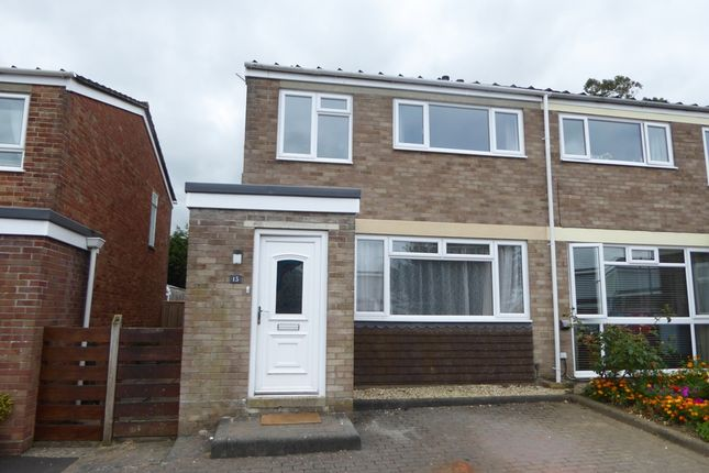 Thumbnail Semi-detached house to rent in Yew Tree Close, Yeovil
