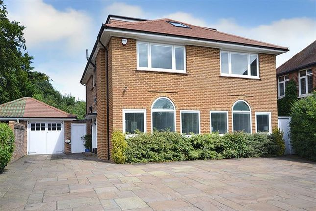 Thumbnail Detached house for sale in Upper Brighton Road, Charmandean, Worthing, West Sussex