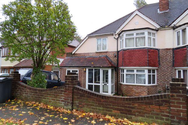 Thumbnail Semi-detached house for sale in Beaudesert Road, Handsworth, Birmingham