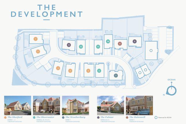 Development Plan of The Brook, Prospect Way, Swanage BH19