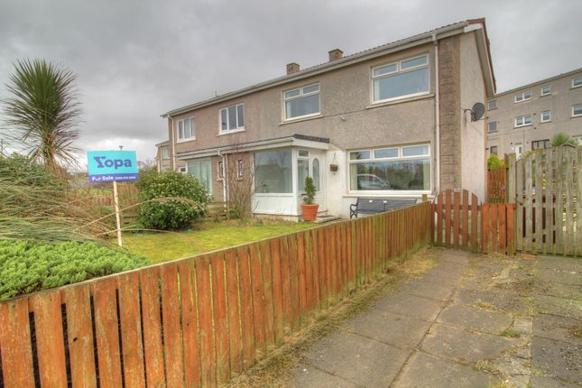 Thumbnail Semi-detached house for sale in The Manor, South Isle Road, Ardrossan