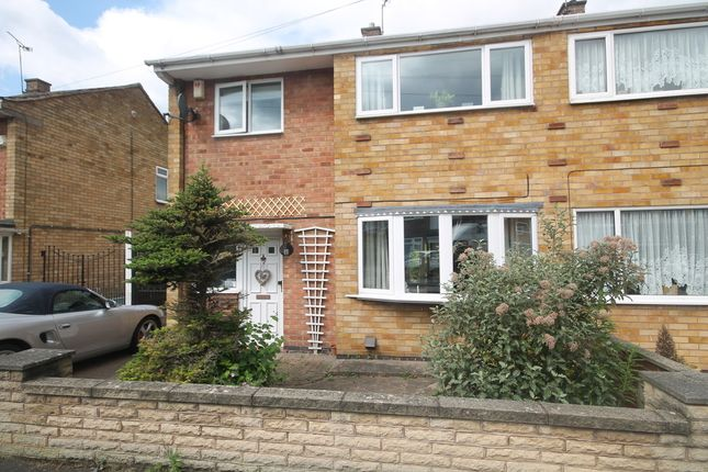 Thumbnail Semi-detached house for sale in Allington Drive, Birstall, Leicester