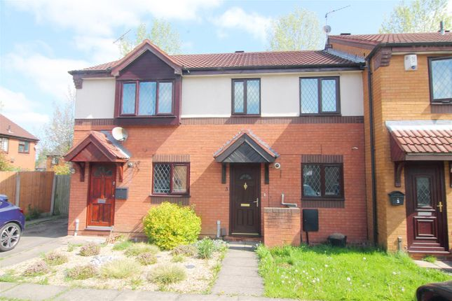 Thumbnail Terraced house to rent in Aldrin Close, Stafford