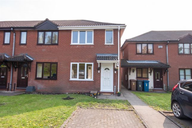 Thumbnail End terrace house for sale in Chaselands, Burntwood