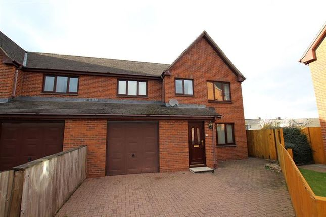 Thumbnail Semi-detached house to rent in Bronant, Talgarth, Brecon