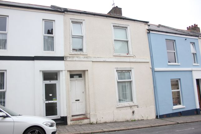 Thumbnail Terraced house for sale in Clifton Street, Greenbank, Plymouth