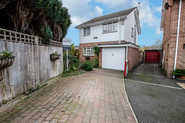 Thumbnail Detached house for sale in Scotter Square, Bishopstoke, Eastleigh