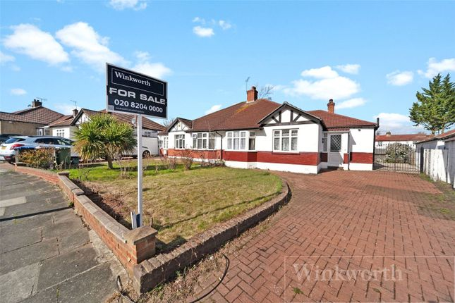 Thumbnail Semi-detached bungalow for sale in Tudor Close, London