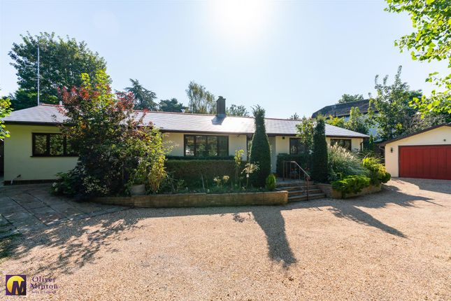 Thumbnail Detached bungalow for sale in Epping Road, Roydon, Harlow