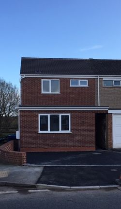 Thumbnail End terrace house to rent in Puxton Drive, Kidderminster