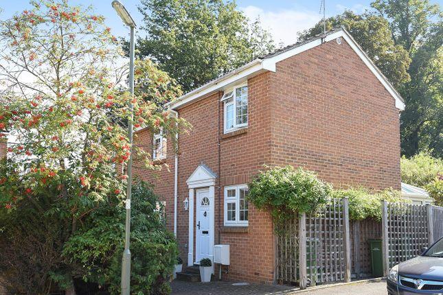 Thumbnail End terrace house for sale in Finnart Close, Weybridge