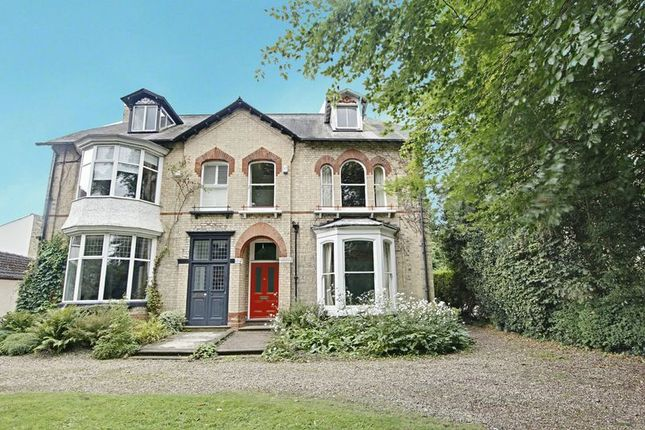 Thumbnail Semi-detached house for sale in Hull Road, Cottingham