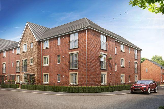 "Thumbnail 2 bedroom flat for sale in ""Orchard House"" at Brickburn Close, Hampton Centre, Peterborough"