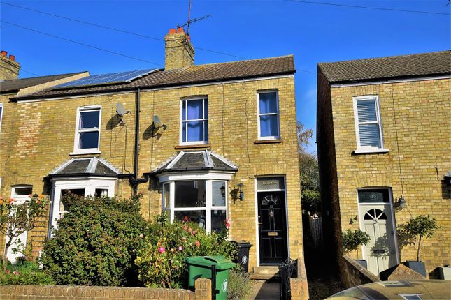 Thumbnail End terrace house to rent in Queens Walk, Stamford