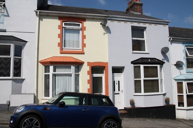 Thumbnail Terraced house to rent in Welsford Avenue, Plymouth