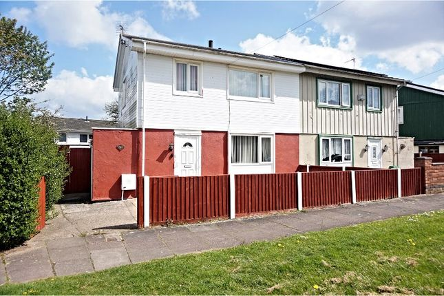Thumbnail Semi-detached house for sale in Birds Nest Avenue, Leicester