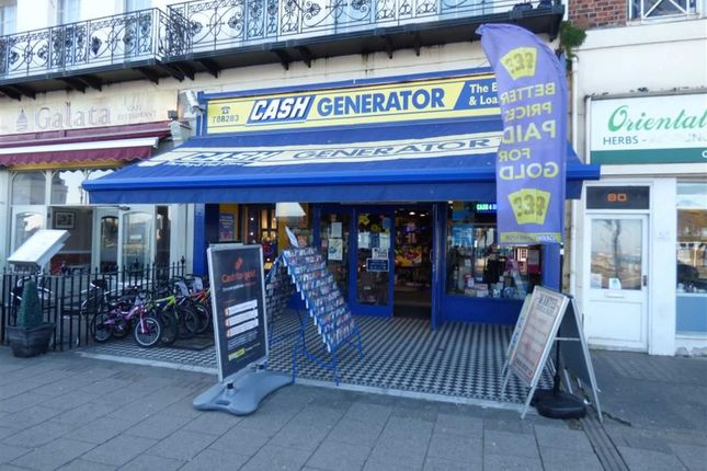 Thumbnail Retail premises for sale in The Esplanade, Weymouth