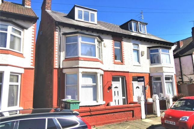 Thumbnail Semi-detached house for sale in Millbank Road, Wallasey