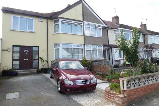 Thumbnail End terrace house to rent in Parkside Avenue, Barnehurst, Kent