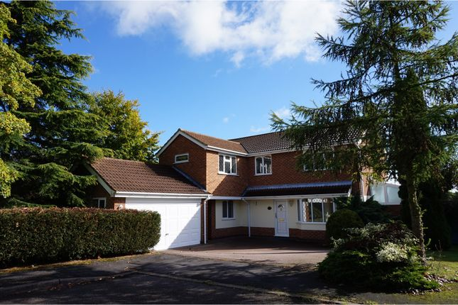 Thumbnail Detached house for sale in Breech Hedge, Rothley