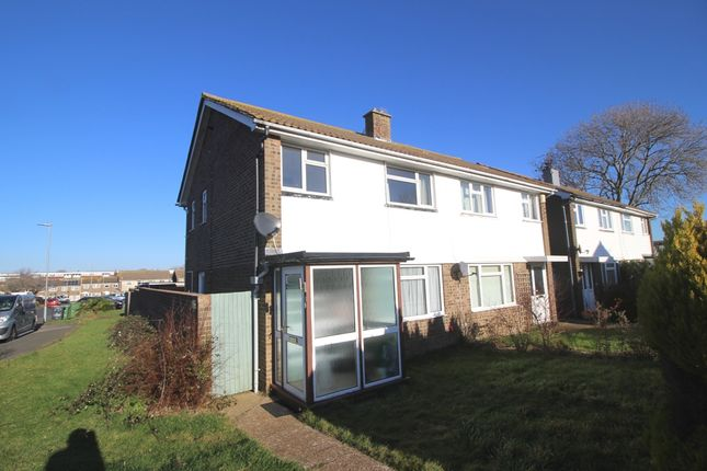 Thumbnail Semi-detached house for sale in Gainsborough Crescent, Langney, Eastbourne