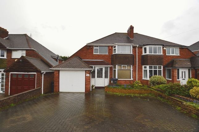 Thumbnail Semi-detached house for sale in The Greenway, Sutton Coldfield