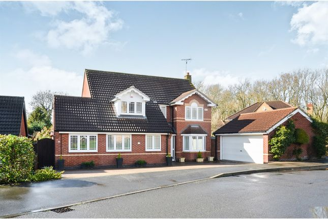 Thumbnail Detached house for sale in Woodcote Way, Heatherton Village, Derby