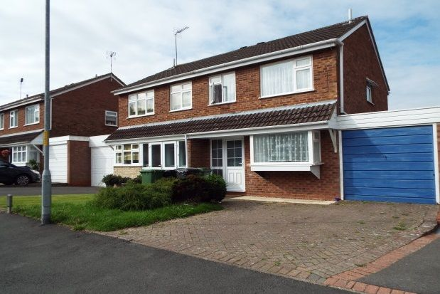 Thumbnail Property to rent in Cheswick Close, Redditch