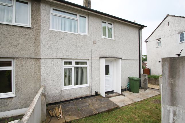 Thumbnail Semi-detached house for sale in Hornchurch Road, Plymouth