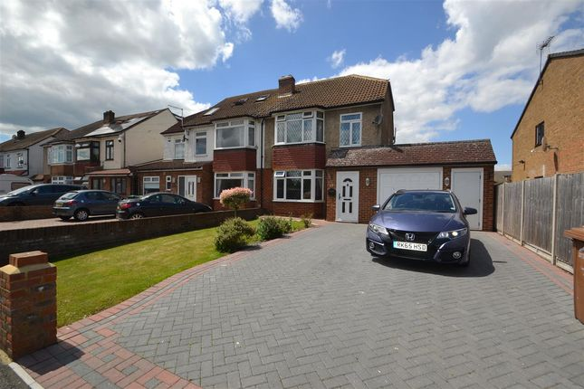 Thumbnail Semi-detached house for sale in Riverside Place, Stanwell, Staines