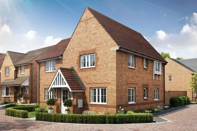 "Thumbnail Detached house for sale in ""Lincoln"" at Robell Way, Storrington, Pulborough"