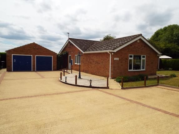 Thumbnail Bungalow for sale in Upwell, Wisbech, Norfolk