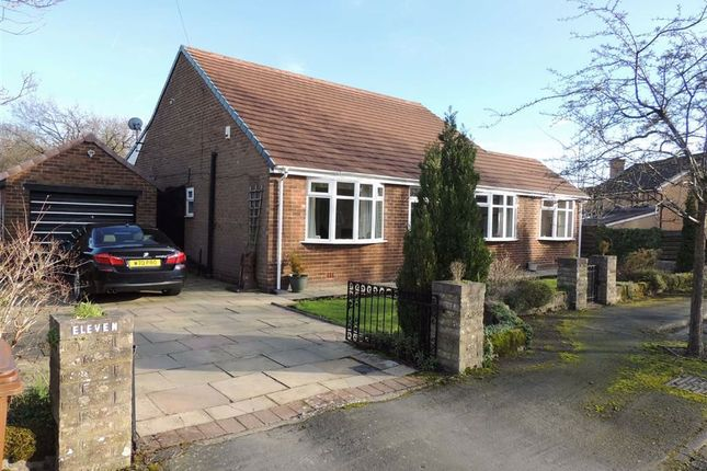 Thumbnail Bungalow for sale in Delamere Close, Hazel Grove, Stockport